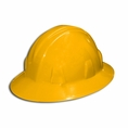 Forester Yellow Full Brim Safety Helmet - #8125