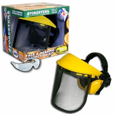 Forester Yellow/Yellow Face & Hearing Protection Kit