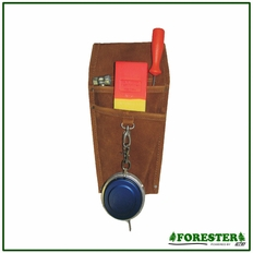 Forester Leather Wedge & Tape Holster