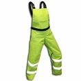 Forester Chainsaw Protective Chap Bibs - Safety Green