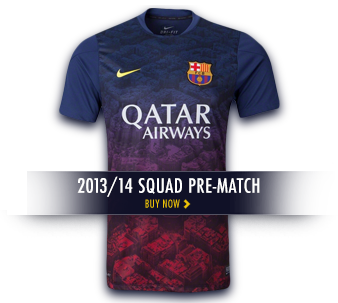2013/14 Squad Pre-Match - Buy now