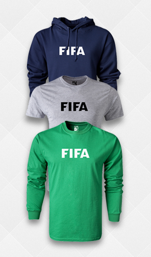 Official FIFA Apparel!