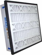 "Practical Pleat Filter Fits in a Standard 1"" Return Air Grate<br>Merv 14"