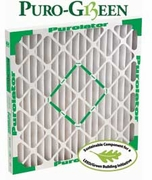 Puro Green Filters 18x22x1<br>($8.76 Each - 1 Case of 12)
