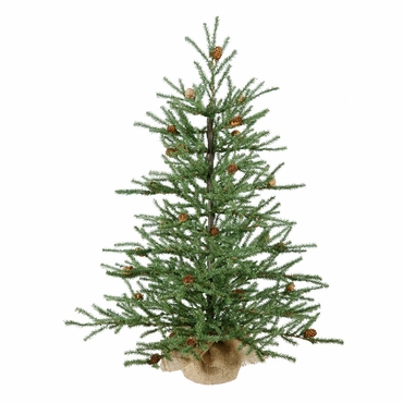 3.5' Vickerman B803927 Carmel Pine - Green