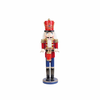 Jeco SN1802 18 Inch Red Nutcracker Drummer Soldier - Click to enlarge