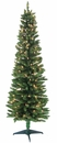 Jolly Workshop 6' Pre-Lit Pencil Green Tree 320 Tips, 200 UL Lights (MKPT-03)