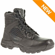 Bates E06606 Men's Code 6 Side Zip 6in Black Lightweight Tactical Boot