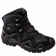 Lowa 3105370999 Men's Zephyr GTX Gore-Tex Waterproof Black Mid Boot