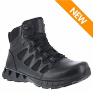 Reebok RB863 Women's ZigKick 6in Waterproof Side Zipper Black Tactical Boot