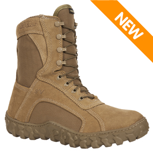 Rocky S2V Waterproof Insulated USMC Coyote Tan Tactical Boot (104-1)