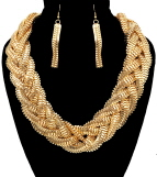 Braided & Bold Necklace
