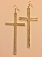 Cross Earrings - Shimmer Collection