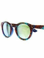 Deco Art Mirrored Sunglasses