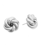 Knotted Textured Studs