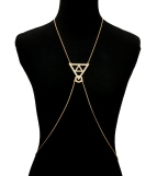Triangle Pendant Body Chain