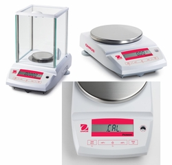 OHAUS Pioneer<sup>TM</sup> Series Analytical and Precision Balances