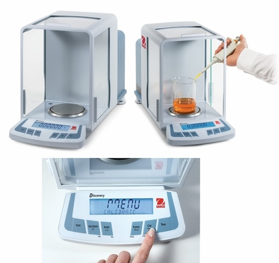 OHAUS Discovery Semi-Micro and Analytical Balances