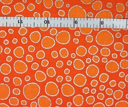 A E Nathan Co - METALLIC PACKED DOTS (ORANGE)