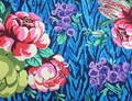 Amy Butler TAPESTRY ROSE (Sapphire)