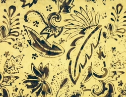 Bali Batiks - Twilight Balis (pale yellow)