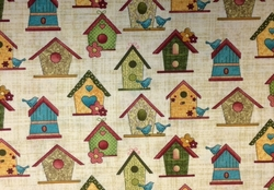 Bernartex - GARDEN DAYS (BIRD HOUSES - Natural)