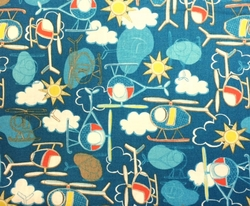 Camelot Fabrics - TAKE FLIGHT (Blue)