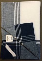 Dunroven House Hand Towel - Navy