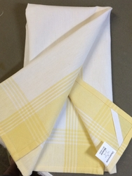 Dunroven House Hand Towel - Yellow
