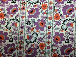 FreeSpirit - EASTHAM (Floral Stripe - Thistle)
