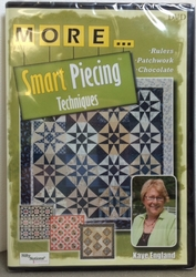 More...Smart Piecing Techniques DVD - Kaye England