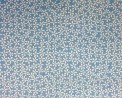 P & B Fabrics - LIGHT BLUE FLORAL