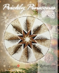 PRICKLY PINECONES Tree Skirt - Judy Niemeyer