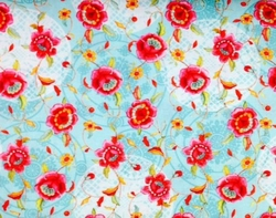Red Rooster - Bohemian Rose (Turquoise Dance of the Roses)