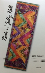 ROCK N JELLY ROLL Table Runner Pattern