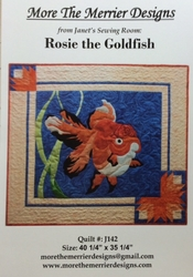 ROSIE THE GOLDFISH - More the Merrier Designs
