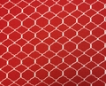 Wilmington Prints - BOHEMIAN ROOSTERS (Chicken Wire - Red)
