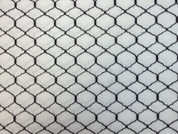 Wilmington Prints - BOHEMIAN ROOSTERS (Chicken Wire - White)