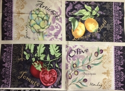 Wilmington Prints - DELLA TERRA (4 Placemats)