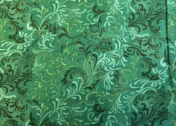 Wilmington Prints - FANTASY SCROLL (Spruce)