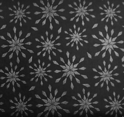 Wilmington Prints - Let It Snow (Black Flakes)