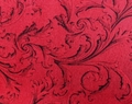 Wilmington Prints - Red Scroll