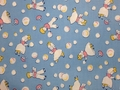 Windham Fabrics - STORYBOOK PLAYTIME (Girl and Boy Blowing Bubbles - B