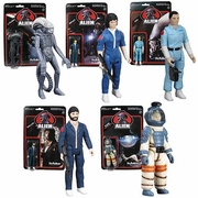 Alien ReAction Set of 5 Figures
