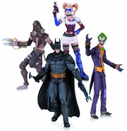 Batman Arkham Asylum Action Figure 4 Pack