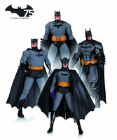 Batman 75th Anniversary Action Figure 4 Pack