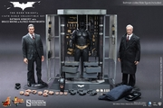 Batman Armory with Bruce Wayne and Alfred 1/6 Scale Figure