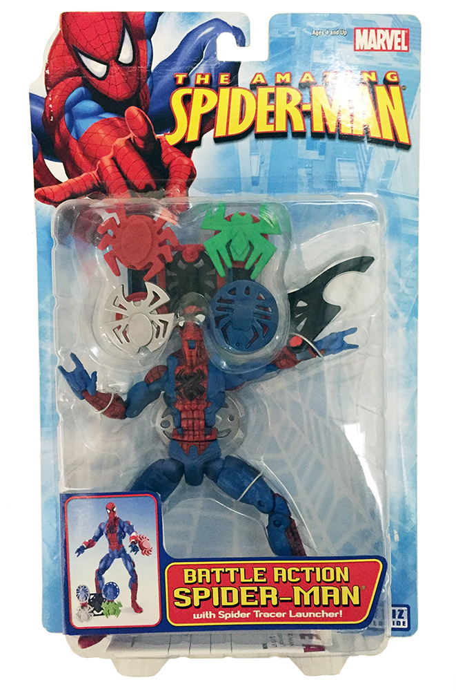 Battle Action Spider-Man with Tracer Launcher (2006)