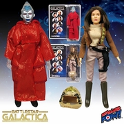 Battlestar Galactica Lucifer and Lt. Athena Action Figures