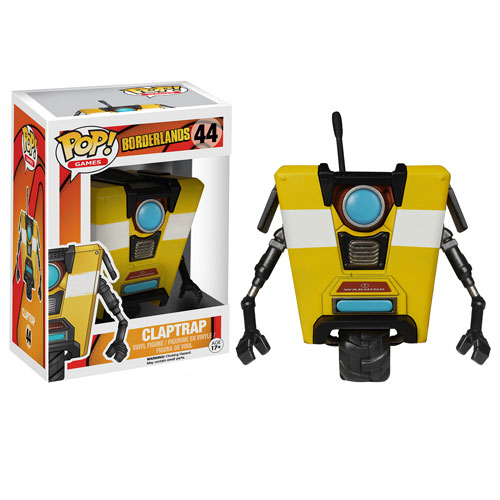 Borderlands Claptrap Pop! Vinyl Figure